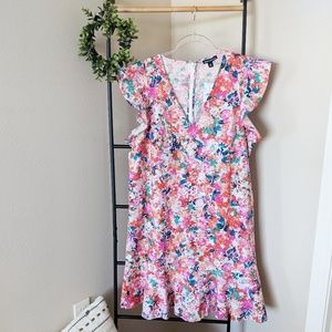 J.Crew Factory | Pink Floral Shift Dress NEW 14